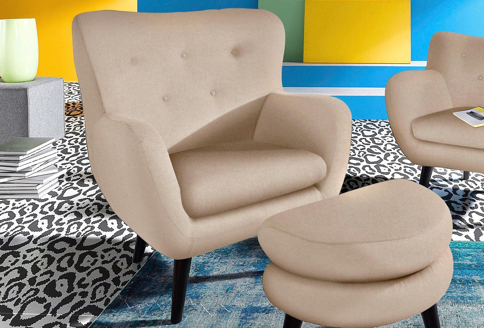 Inosign TV-fauteuil met houten pootjes in de webshop van OTTO kopen
