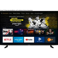 grundig »65 voe 82 - fire tv edition« led-tv zwart