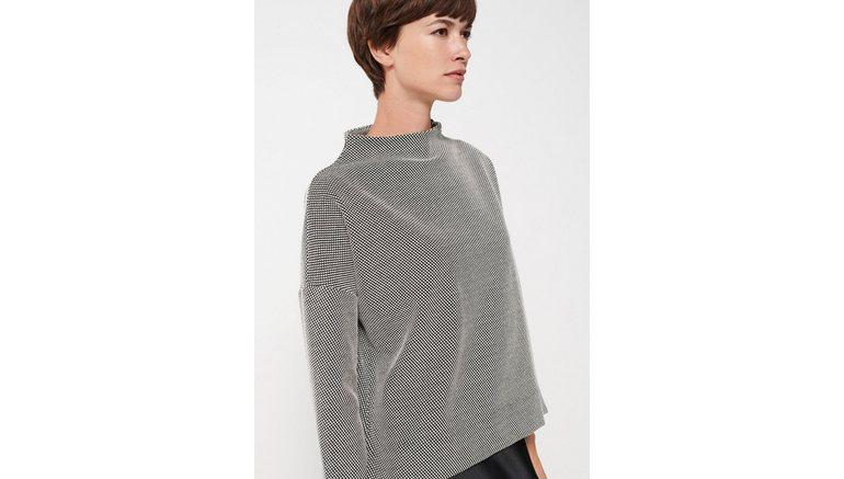 someday sweatshirt Ubalda met hoog gesloten hals