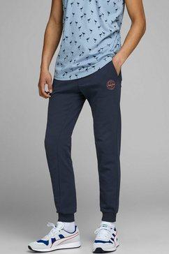 jack  jones joggingbroek gordon shark sweat pants blauw