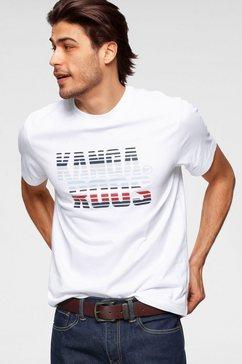 kangaroos t-shirt met logo-frontprint