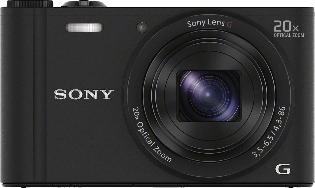 SONY Cyber-Shot DSC-WX350 Compakt camera, 18,2 Megapixel, 20x opt. Zoom, 7,5 cm (3 inch) Display voordelig en veilig online kopen