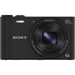 sony superzoomcamera cyber-shot dsc-wx350 20-voudige optische zoom zwart