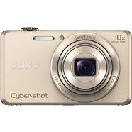 sony cyber-shot dsc-wx220 compakt camera, 18,2 megapixel, 10x opt. zoom, 6,8 cm (2,7 inch) display goud
