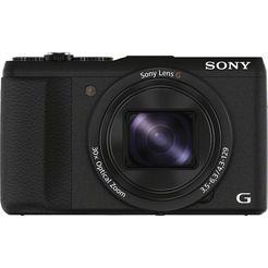 sony cyber-shot dsc-hx60b superzoom camera, 20,4 megapixel, 30x opt. zoom, 7,5 cm (3 inch) display zwart