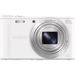 sony cyber-shot dsc-wx350 compakt camera, 18,2 megapixel, 20x opt. zoom, 7,5 cm (3 inch) display wit