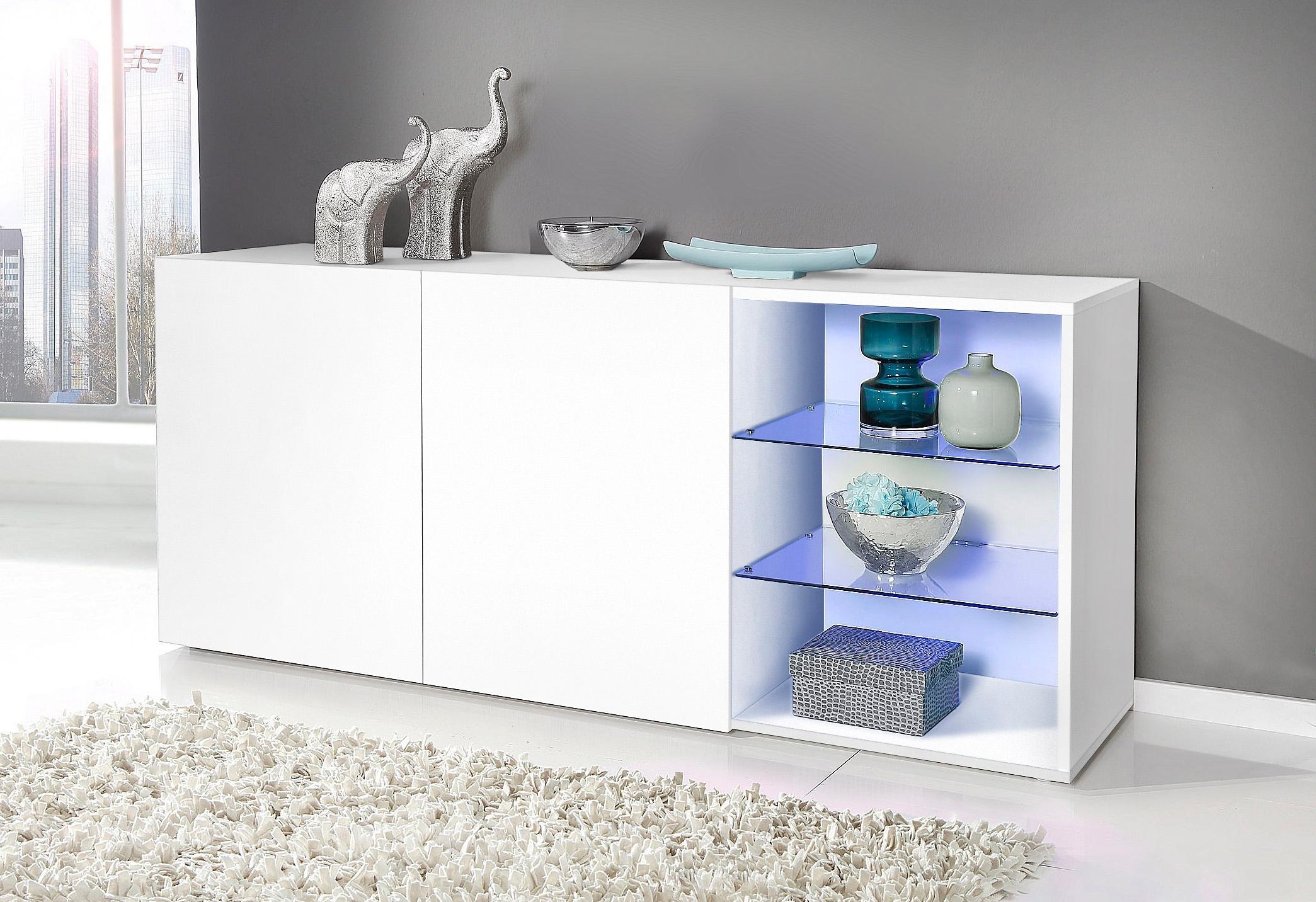 Tecnos Sideboard met 2 glasplateaus veilig op otto.nl kopen