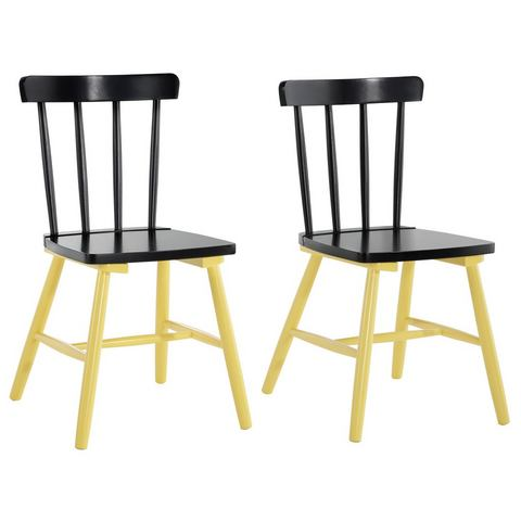 Eetkamerstoelen HOME AFFAIRE Stoel in set van 2 727914