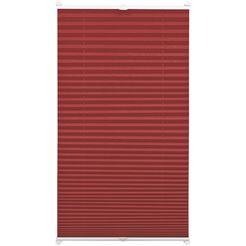 gardinia plissé-vouwgordijn easyfix plissé rood