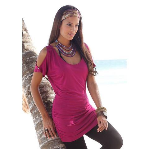 LASCANA Lang shirt met open schouders