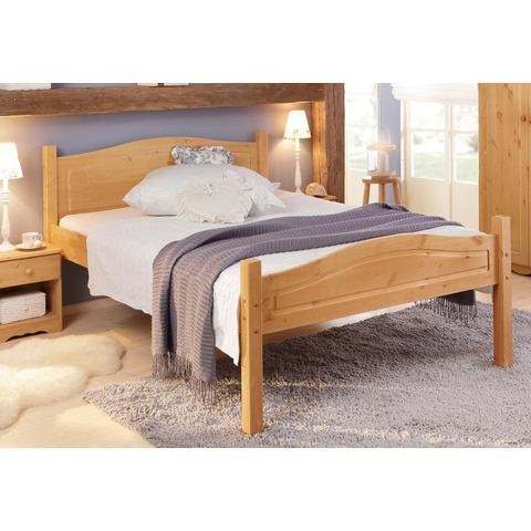 HOME AFFAIRE Bed van massief hout beige Home Affaire 605215