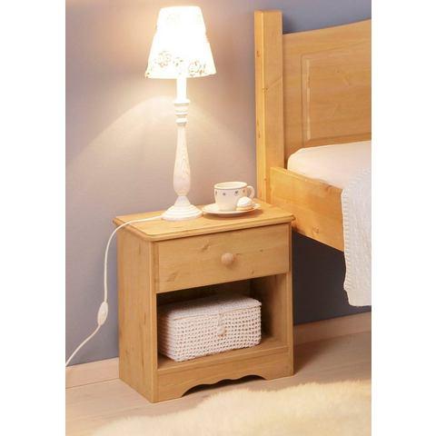 Nachtkastjes  commodes HOME AFFAIRE Nachtkastje van massief hout 335884