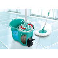 cleanmaxx vloerwisserset basisset zwabber (set) blauw