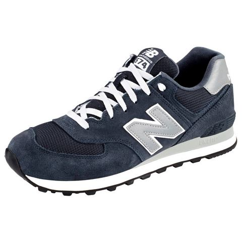 New Balance M 574 Sneakers laag Blauw