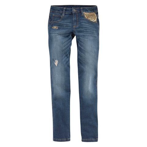ARIZONA Jeans met pailletten voor meisjes