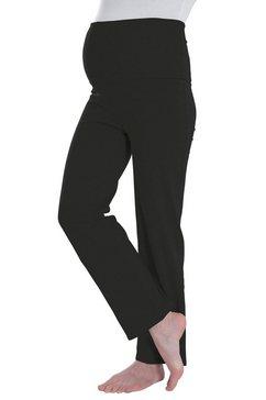 neun monate positie-yogabroek met stretch zwart