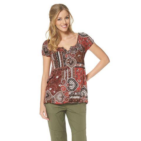 CHEER T-shirt met patchprint