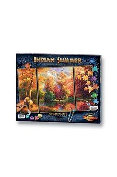 schipper schilderen op nummer triptiek - indian summer made in germany multicolor