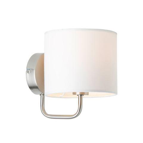 BRILLIANT Wandlamp van metaal en textiel