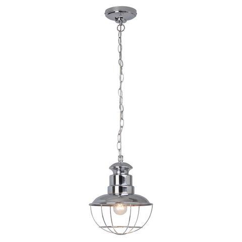 BRILLIANT Hanglamp met chroomkleurige delen