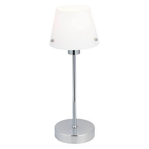 BRILLIANT Tafellamp van metaal en glas
