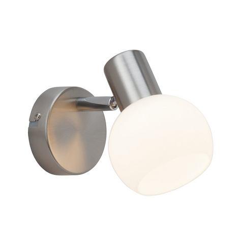 BRILLIANT Wandlamp van metaal en glas