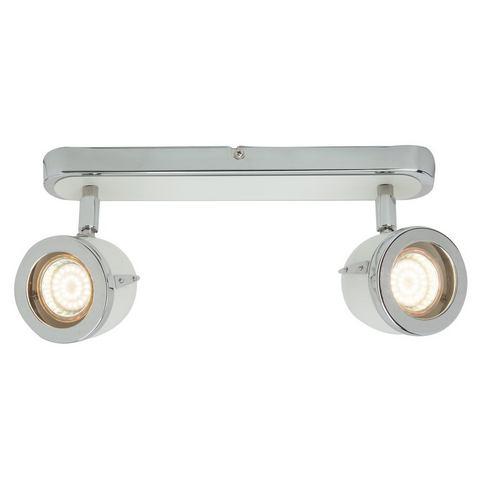 BRILLIANT Plafondlamp van metaal met 2 fittingen