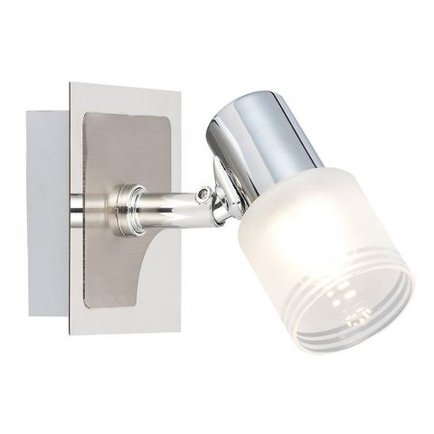 BRILLIANT LED-wandlamp met 1 fitting