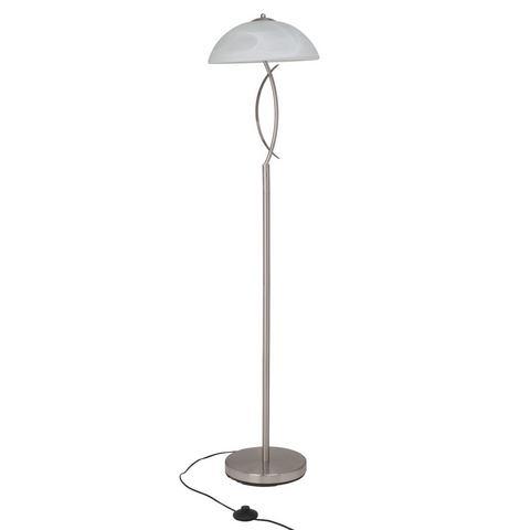 BRILLIANT Staande lamp van glas en metaal