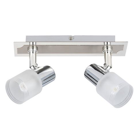 BRILLIANT LED-plafondlamp met 2 fittingen