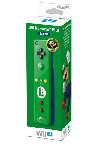 Wii U Remote Controller Plus Luigi Edition