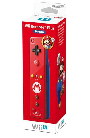 Wii U Remote Controller Plus Mario Edition