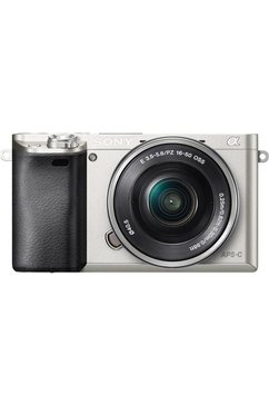 Alpha ILCE-6000L Systeemcamera, 16-50 Zoom, 24,3 Megapixel, 7,5 cm (3 inch) Display