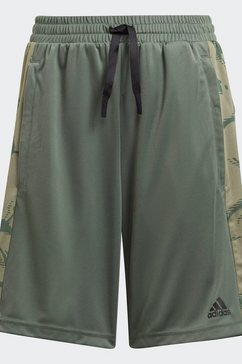 adidas performance trainingsshort »adidas designed to move camouflage« groen