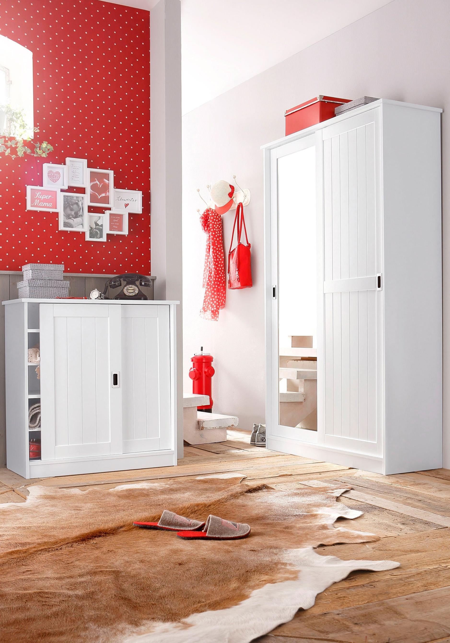 home affaire schoenenkast in moderne landhuisstijl online shoppen otto. Black Bedroom Furniture Sets. Home Design Ideas