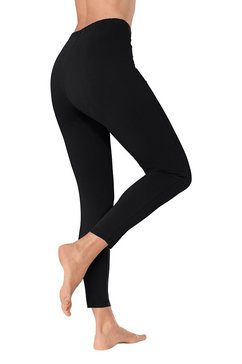 legging in 7-8-model zwart