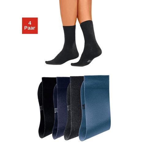 Basic sokken, set van 8 paar, H.I.S