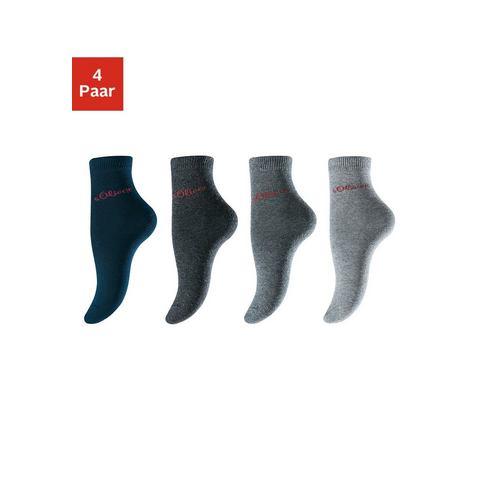 Sokken, set van 4 paar, S.OLIVER