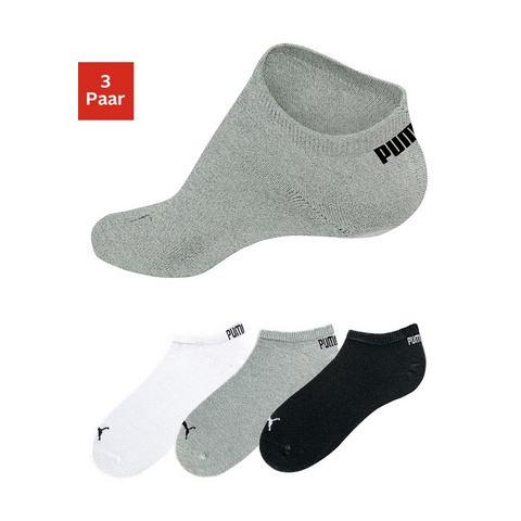 Dames Anklets, set van 3 paar, PUMA Puma wit Sportkleding