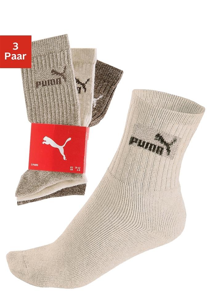 PUMA Sportsokken, set van 3 paar voordelig en veilig online kopen