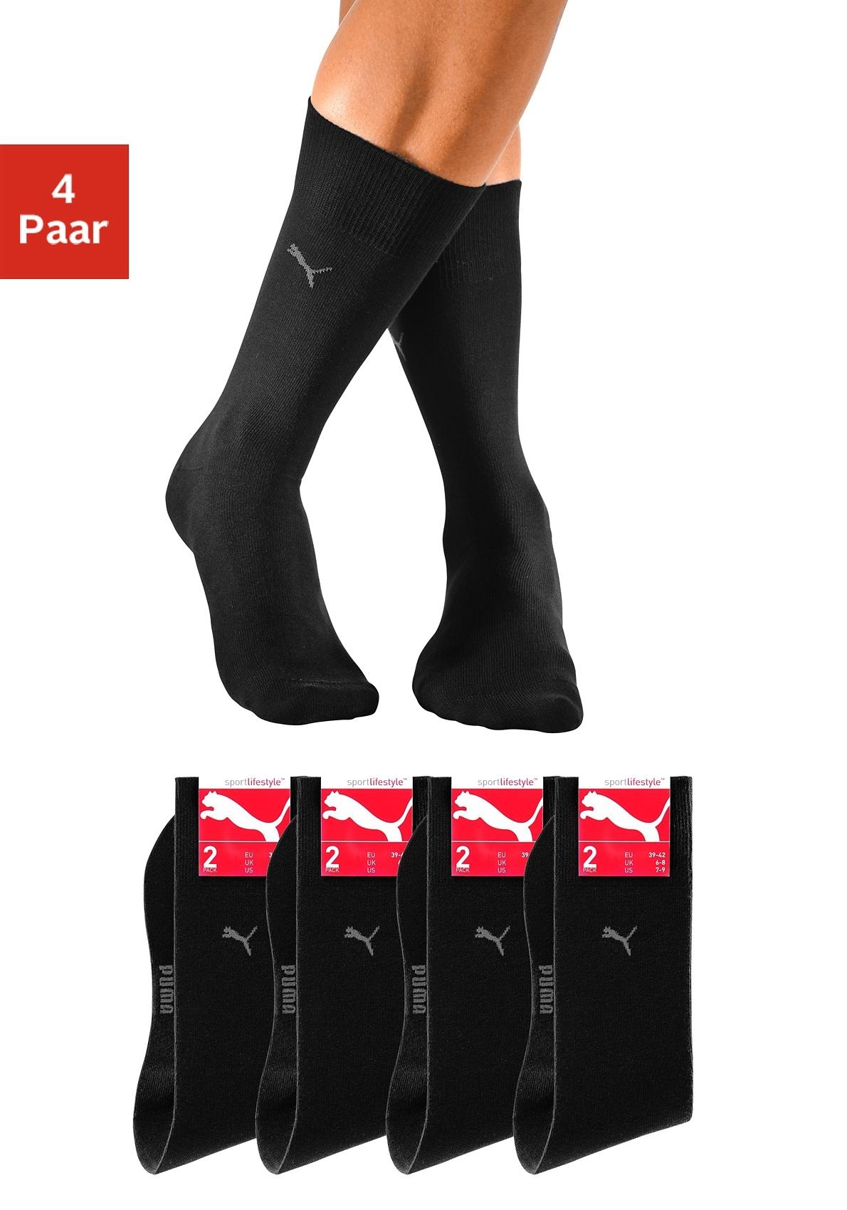 Op zoek naar een PUMA basic sokken (set van 4 paar) met knelvrije comfortrand? Koop online bij OTTO