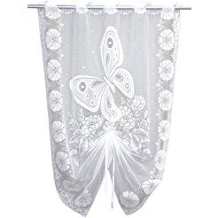 vitrage, vhg, »vlinder« (per stuk) wit