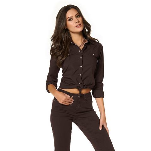 ARIZONA Jeansoverhemd in trendkleuren