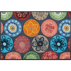 wash+dry by kleen-tex mat coralis multicolor