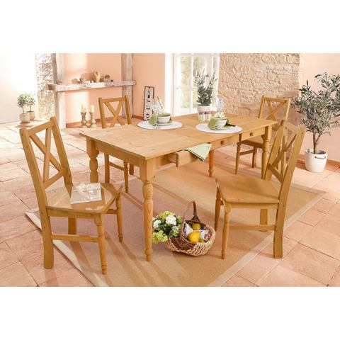 Eettafels HOME AFFAIRE Eettafel van massief grenenhout 531018