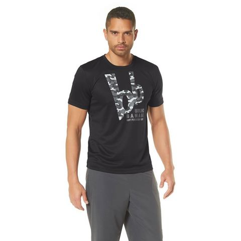 BRUNO BANANI Functioneel T-shirt met logoprint