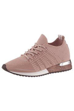 la strada sneakers met sleehak »fashion sneaker« roze