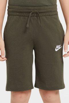 nike short »boy nsw short jersey aa« groen