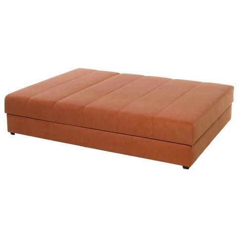 Bed terracotta oranje heine 112813