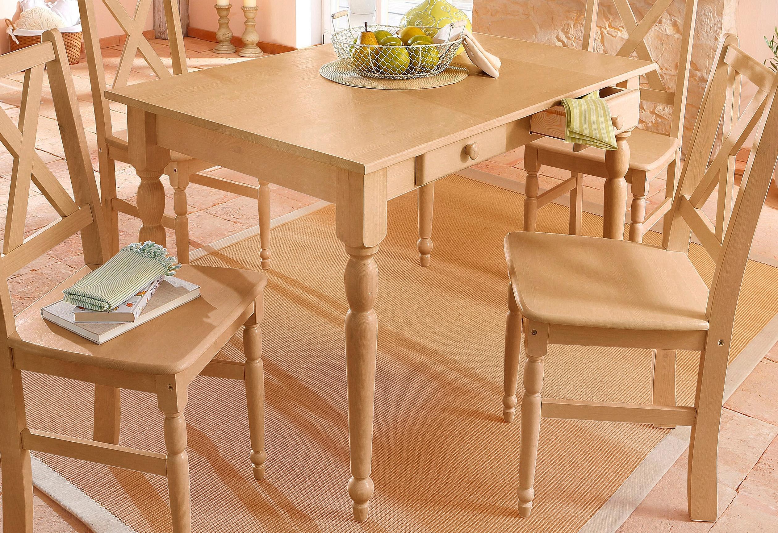 Home Affaire Eettafel van massief grenenhout bij OTTO online kopen